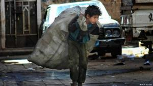 Many Yemeni children have stopped attending school and must work to support their families (photo: Ali Al Sunaidar)