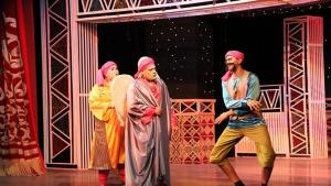 "Scene from Mohamed El Sagheerʹs ""Gallert Epic"" (photo: Goethe-Institut/Hassan Emad)"