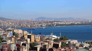 Panorama of Istanbul (photo: Marian Brehmer)