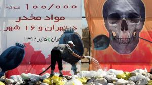 On the International Day against Drug Abuse and Trafficking in 2013, officials in Iran destroyed some 100 tonnes of illegal drugs in Tehran and 16 other Iranian cities (photo: IRNA)