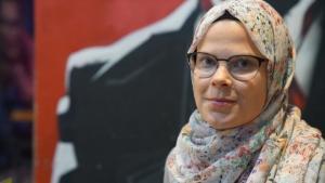 Finnish Islamophobia researcher Linda Hyokki (photo: Marian Brehmer)