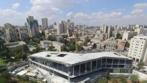 Museum of Tolerance Jerusalem under construction (photo: Simon Wiesenthal Center)