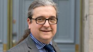 Pater Tobias Zimmermann, Rektor des katholischen Canisius-Kollegs in Berlin; Foto: Stefan Weigand