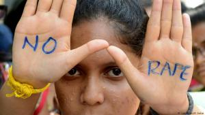 Symbolic image against rape in India (photo: Getty Images)