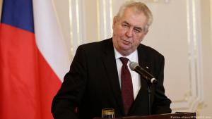 Czech President Milos Zeman (photo: picture-alliance/AP)