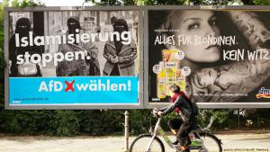 AfD election poster in Berlin′s Kreuzberg district (photo: picture-alliance/dpa)