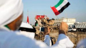 Military parade in the United Arab Emirates (photo: picture-alliance/dpa/Emirates News Agency)
