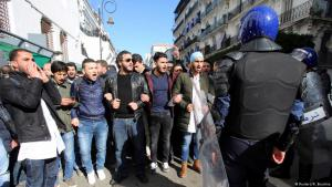 Social unrest in Algiers at the beginning of January (photo: Reuters)