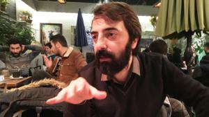 Kurdish author and translator Kawa Nemir (photo: Murat Bayram)