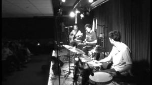 """The band """"Persian Side Of Jazz"""" on stage in 2013 in Teheran (source: YouTube)"""