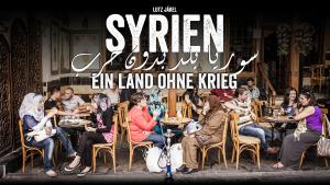 "Cover of Jakel and Kaddorʹs ""Syrien – ein Land ohne Krieg"" (Syria – a country without war), published in German by Malik (photo: Lutz Jakel)"