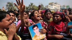 Bangladesh remembers the Rana Plaza textile factory collapse (photo: Reuters)