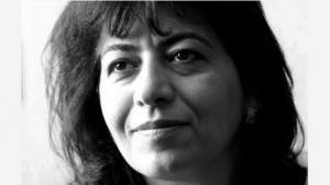 Iraqi American author Dunya Mikhail (source: New Directions)