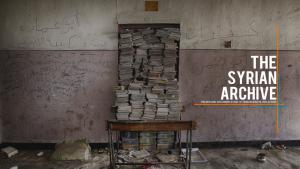 The Syrian Archive website (source: syrianarchive.org)