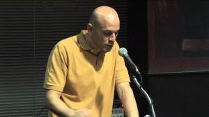 Palestinian-American poet Fady Joudah (photo: Milkweed Editions)