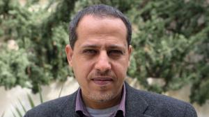 Palestinian human rights activist Mahmoud Abu Rahma (photo: Lazar Semeonov/Medico International)