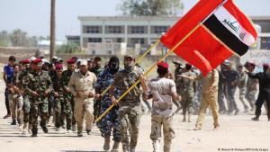 Schiitsche Milizen im Irak; Foto: AFP/Getty Images