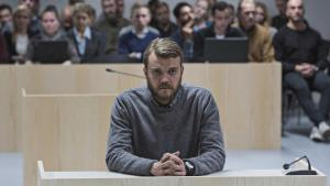"Still from""A War"": Danish actor Pilou Asbæk plays Claus Michael Pedersen, the officer on trial (photo: Magnolia Pictures)"