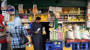 Egypt's shopkeepers bear the brunt of the economic crisis (photo: picture-alliance/dpa)