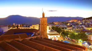 View of the historic old town of Chefchaouen, Morocco (photo: picture-alliance)