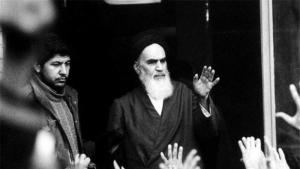 Revolutionary Leader Ayatollah Ruhollah Khomeini (photo: Reuters)