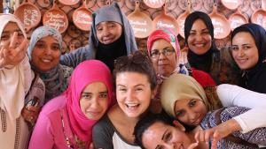 "Women's self-help project ""Amal"" in Marrakesh (photo: amalnonprofit.org)"