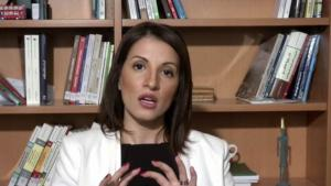 Extremism researcher Dalia Ghanem-Yazbeck (source: YouTube)