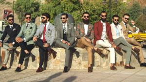 Members of Mr. Erbil Gentlemanʹs Club (source: YouTube; France24)