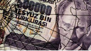 Reminder of hyperinflation: 50,000 lira Turkish banknote (photo: AFP/Getty Images)
