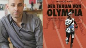 "Reinhard Kleist (photo: anjazwei.de / Cover of ""The Dream of Olympia""; photo: Carlsen-Verlag)"