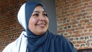 Bonn street worker Saloua Mohammed (photo: DW/Matthias von Hein)