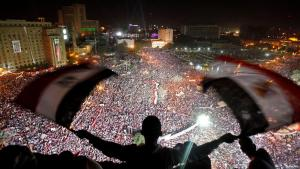 Demonstration on Tahrir Square in Cairo, 2011 (photo: Reuters)