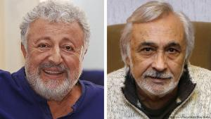 Turkish acting legends Metin Akpinar and Mujdat Gezen (photo: picture-alliance/abaca/Depo Photos)