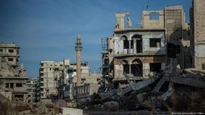 Destruction in Homs Old Town, Central Syria (photo: dpa/picture-alliance)