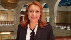 Tunisʹ first female mayor, Souad Abderrahim (photo: DW/N. Alsarras)