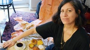 Die israelische Künstlerin Adi Liraz; Foto: Ceyda Nurtsch