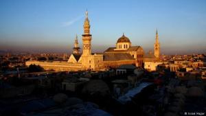 The Umayyad Mosque in Damascus (photo: Issam Hajjar)