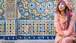 Moroccan writer Fatima al-Zahraaʹ Al-Riyadh (photo: Imane Bouziane)