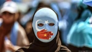 Protests in Istanbul against the oppression of Uighurs in China (photo: Getty Images/AFP/O. Kose)
