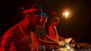 DJs Rafi Gazani and Uros Petkovic at Arab Beats (photo: Sergej Kreso)