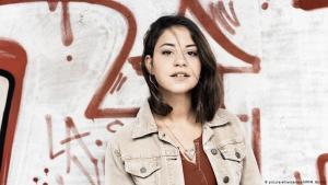 """Die Schauspielerin Almila Bagriacik in """"Nur eine Frau"""", ein Film über Hatun Sürücü; Foto: picture-alliance/dpa/NFP/M. Bothor"""