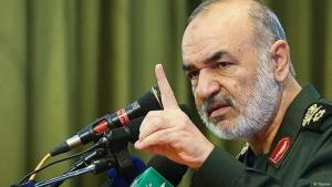 General Hossein Salami, Supreme Commander of Iranʹs Revolutionary Guard Corps (photo: Tasnim)