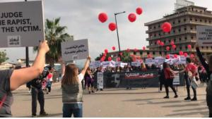 ABAAD demonstration at the Beirut International Marathon (photo: ABAAD)