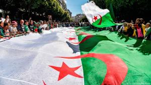 Protests against President Abdelaziz Bouteflika's bid to run for a fifth term (photo: Getty Images/AFP)