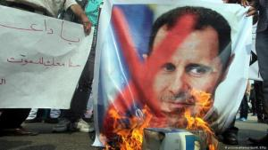 Anti-Assad protests in Syria, 2012 (photo: picture-alliance/dpa/K. Elfiqi)
