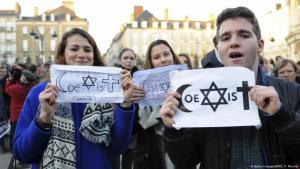 Jews and Muslims are not enemies (photo: Getty Images/AFP/J. F. Monier)