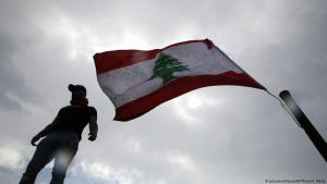 Anti-government protests in Lebanon (photo: picture-alliance/AP)