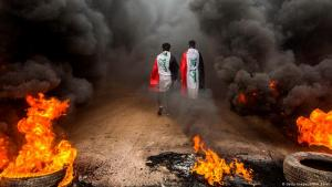 Anti-government protests and unrest in Iraq (photo: Getty Images/AFP)