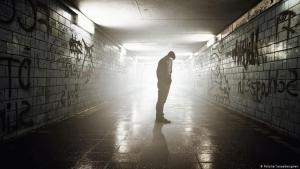 Symbolic image of loneliness/depression/suicide (photo: Fotolia/lassedesignen)
