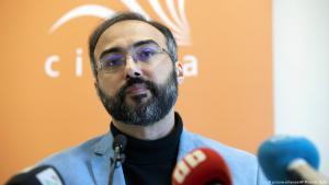 """Iyad el-Baghdadi, Leiter der """"Kawaakibi-Foundation"""" in Oslo; Foto: picture-alliance/AP"""